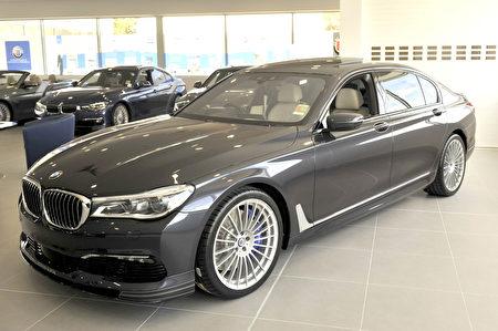 BMW ALPINA B7 Biturbo Sedan(安柏超/大纪元)
