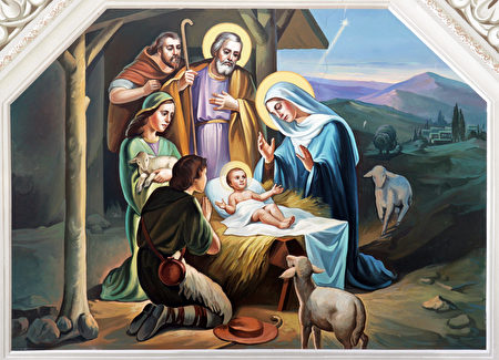 每到圣诞节时,很多基督徒的家里都会重现耶稣诞生于马棚和东方三王来朝拜的场景。(Fotolia)