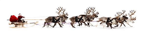 最早的基督教庆祝圣诞时,并没有圣诞老人。那时穿着红斗篷,驾着雪橇来村庄里探望孩子们的白须老者是圣尼古拉(圣尼古拉斯),他是保护孩子们的圣人。(Fotolia)