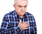 胸口痛是身體發出的一種警訊。(Fotolia)