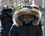 根據天氣預報,超冷的「極地漩渦」寒流可能會分兩次襲擊美國。 (Stephanie Keith/Getty Images)
