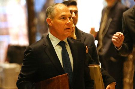 熟悉川普提名作业的消息人士今天表示,川普有意提名俄克拉何马州总检察长任环境保护署署长。(Spencer Platt/Getty Images)