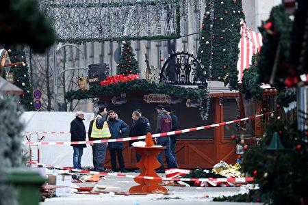 恐袭地点和周围的街道将封锁长达几天。(Sean Gallup/Getty Images)