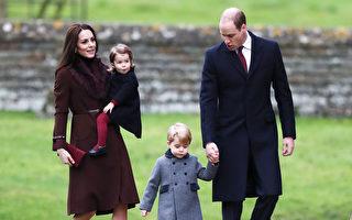 圣诞节当日,英国威廉王子与凯特王妃带着乔治王子与夏洛特公主到附近的St. Mark教堂,参加圣诞弥撒。(Andrew Matthews - WPA Pool/Getty Images)