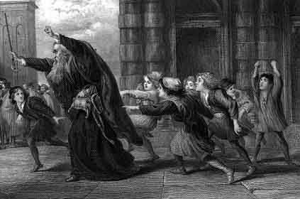 《威尼斯商人》(The Merchant of Venice)插画 (维基百科公共领域)