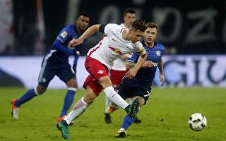 莱比锡八连胜领跑德甲积分榜 拜仁紧追