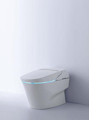 TOTO最頂級的NEOREST系列全自動坐便器。(圖片TOTO提供,硅谷衛浴店Gooder Supply販售)