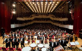 台湾爱乐国家交响乐团正在表演。(台湾爱乐国家交响乐团提供)