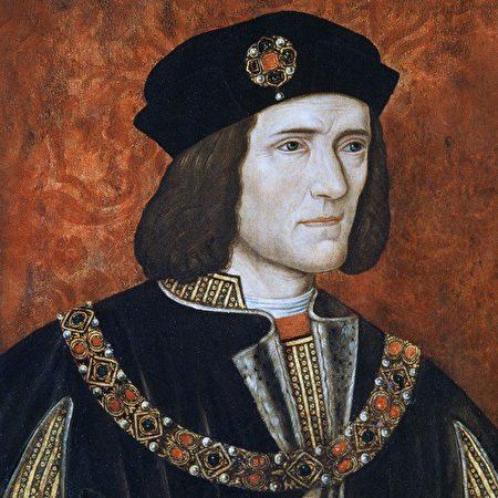 《查理三世》(Richard III)畫像 (維基百科公共領域)