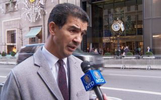 纽约市交通委员会主席 罗德里格斯(Ydanis Rodriguez)。 (舒雅/大纪元)