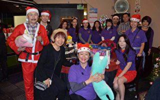 两华人狮子会带给Hillside受虐儿童圣诞温暖