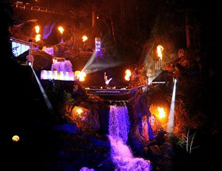 特里堡(Triberg)夜景(特里堡旅游局提供)