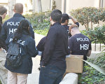 近年来,很多美国地区机构都大力打击月子中心,但产子旅游依然兴旺不绝。2015年3月,美国联邦执法部门3月3日突击搜查了南加州的近40家月子中心,图为被搜查的月子中心之一,位于罗兰岗的Pheasant Ridge豪华公寓。(郑浩/大纪元)