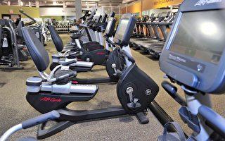 多數健身房會在每年的1月推出會員年費特價折扣。(大紀元/景浩)