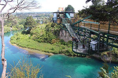 圖為新西蘭Taupo高空彈跳一景點。 (pixabay.com)