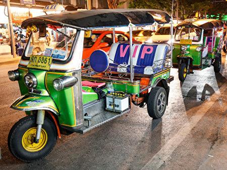 泰国曼谷街头的嘟嘟车。(Isa Foltin/Getty Images)