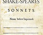 莎士比亚d的《十四行诗》(Shakespeare's Sonnets)(维基百科公共领域)