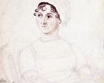 简•奥斯汀画像(维基百科公有领域)