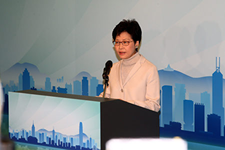 北京昨日(16日)同步批准財政司司長曾俊華及政務司司長林鄭月娥的請辭。(李逸/大紀元)