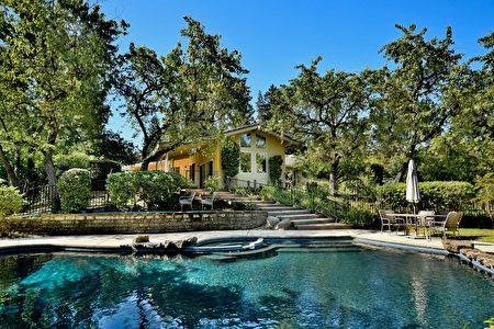 2016年9月Rita Dhillon在Walnut Creek卖出的一栋豪宅,220万美元。(旧金山湾区房地产经纪Rita Dhillon提供)