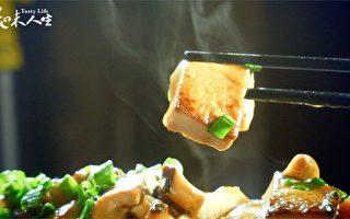跟著大廚學做菜【小蔥燒豆腐】