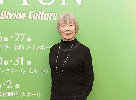 自從2011年起每年都觀賞神韻演出的著名鋼琴演奏家高田江里(Eri Takata),今年也不例外出現在30日神韻演出的劇院座席中。高田說,觀賞神韻就好像進入另一個世界一樣非常奇妙精彩。(野上浩史/大紀元)