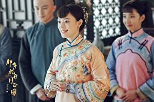 孫儷正在拍攝《那年花開月正圓》。(達騰娛樂提供)