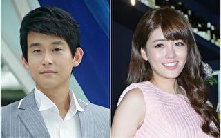 藝人陳乃榮(左)與賴琳恩宣布結婚喜訊,圖為資料照。(黃宗茂/大紀元合成)