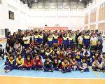 台塑關係企業暨慶寶公益信託關懷低收入戶活動,10日在臺西鄉泉州國小熱鬧開跑。(台塑提供)