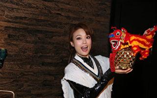 容祖儿(Joey)最近推出《一百个我》国语新曲加精选,今(11)日她举行睽违台湾4年的记者餐叙。(英皇提供)