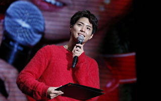 朴宝剑在亚洲巡回粉丝见面会中,演唱中文歌受粉丝欢迎。(宝辉娱乐提供)
