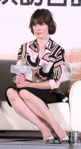 蜜拉乔娃维琪,导演保罗安德森:【恶灵古堡:最终章】访台国际媒体记者会