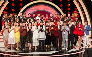 三立台湾台首次与华视合作除夕夜特别节目《金鸡献瑞迎新春》,邀请超过70位艺人共同参与。(三立提供)