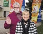 圣地亚哥一家慈善机构的创办人和主席、公司老板Bill McLeod和太太观看了神韵纽约艺术团1月18日在圣地亚哥演出后赞叹演出令人着迷。(杨婕/大纪元)
