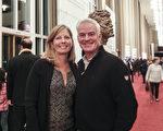 金融理財師Brad & Cathy Coyle 夫婦1月18日晚在肯尼迪中心觀看神韻(蕭恩/大紀元)