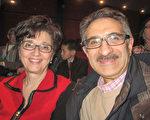 Luciano Lista 和妻子Maria 久闻听神韵盛名已多年,感恩终于欣赏到神韵演出。(李佳/大纪元)