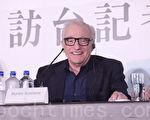 导演马丁史柯西斯最新史诗巨作电影【沉默】记者会于2017年1月25日在台北举行。(黄宗茂/大纪元)