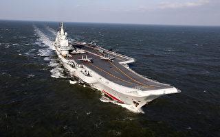 中共辽宁号17日再沿海峡中线航行