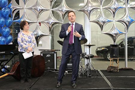 菲利蒙Premier Subaru剪彩开张 总裁分享慈善心得
