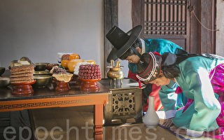 组图:首尔民俗博物馆 传统文化活动贺新年