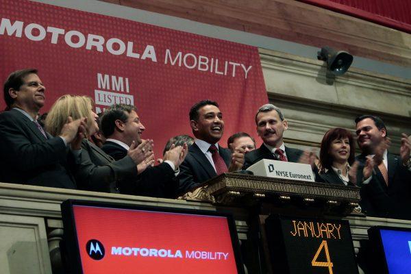 因為員工搬到曼哈頓,一些大公司也隨之駐入,其中就包括摩托羅拉(Motorola)。 (Chris Hondros/Getty Images)