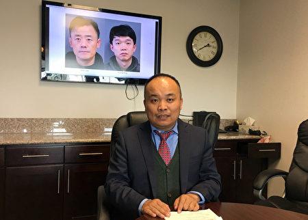 洛杉矶律师刘龙珠分析周立波案。(刘菲/大纪元)