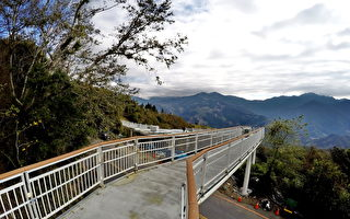 清境高山景观步道 赏景兼顾行人安全