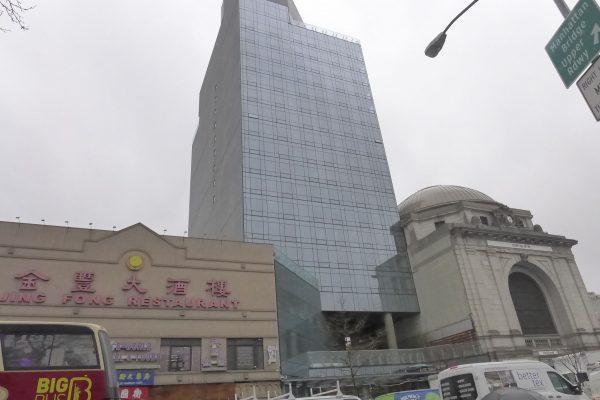 包厘街50号豪华酒店,将于今年3月落成启用。 (蔡溶/大纪元)