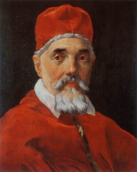 教宗乌尔班八世。贝尼尼作品。(维基百科)