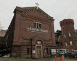 法拉盛北方大道137-70號原韓裔教堂將改建為8層商住樓。 (林丹/大紀元)