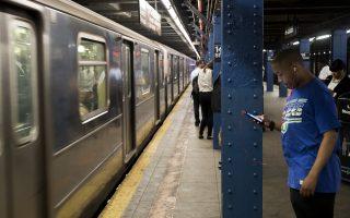 纽约市地铁站内通手机信号 1月9日全面覆盖