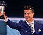 """继夺得2016年欧洲""""金球奖""""之后,皇马葡萄牙球星C罗再获2016年""""世界足球先生""""荣誉。 (Philipp Schmidli/Getty Images) C Ronaldo-631343686.jpg"""