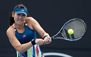 图:中国女将段莹莹闯入澳网第三轮,这是她职业生涯首次晋级大满贯32强。 (Jack Thomas/Getty Images)