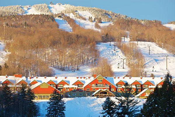 山下的住宿。(Mount Snow提供)